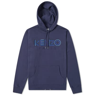 90a1bade Kenzo Paris Cord Logo Hoody