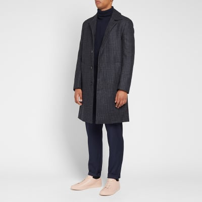 Harmony Maximus Check Coat