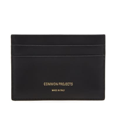 Common Projects Soft Leather Multi Card Holder
