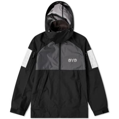 Junya Watanabe MAN Eye Reflective Hooded Jacket