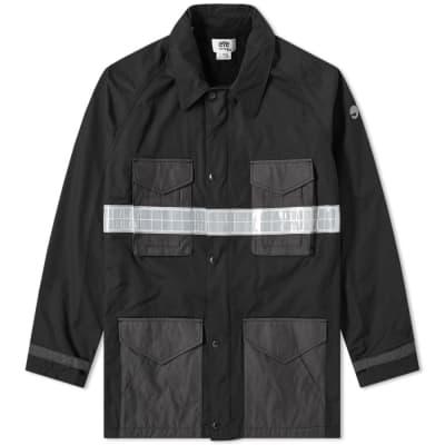 Junya Watanabe MAN Eye Reflective Taped M65 Jacket