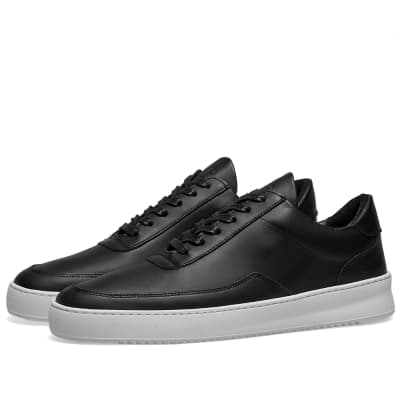 Filling Pieces Low Mondo Ripple Leather Sneaker