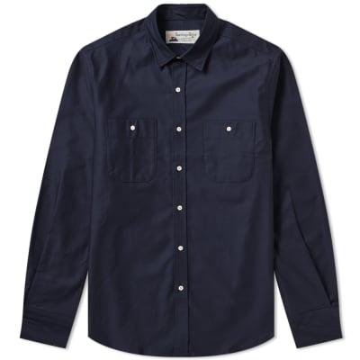 Santiago Shirt by Gitman Vintage Marina Poplin Shirt