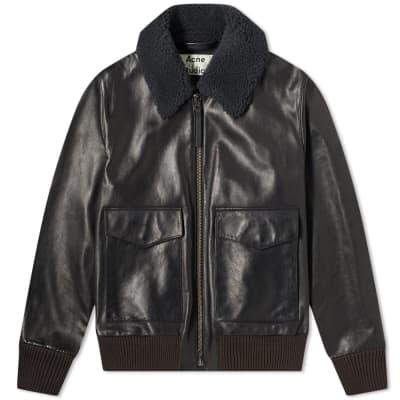 Acne Studios Lazlo Shearling Jacket