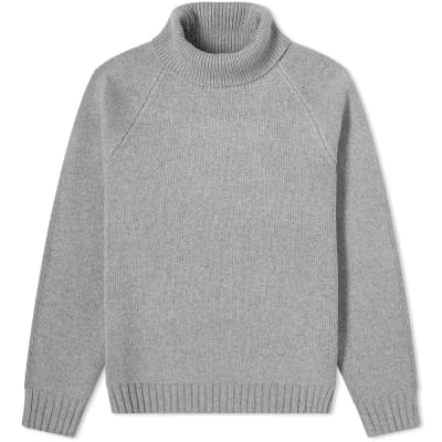 Casablanca Cashmere Mix Turtle Neck