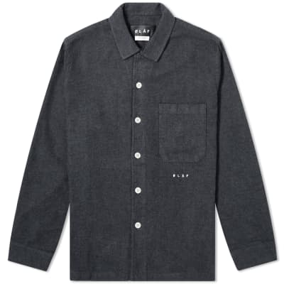Olaf Hussein Flannel Overshirt