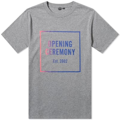 Opening Ceremony Ombre Box Logo Tee