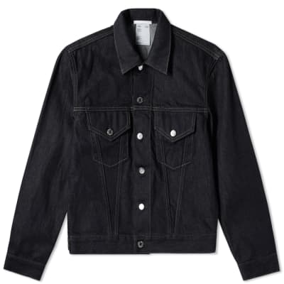 Helmut Lang Masc Trucker Denim Jacket