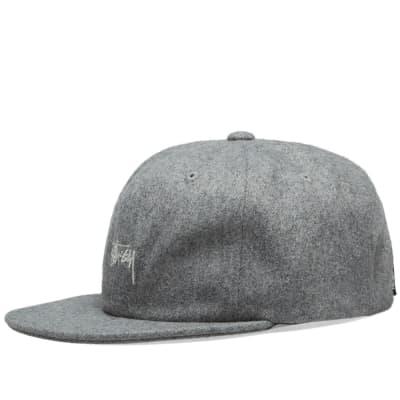 Stussy Melton Wool Strapback Cap