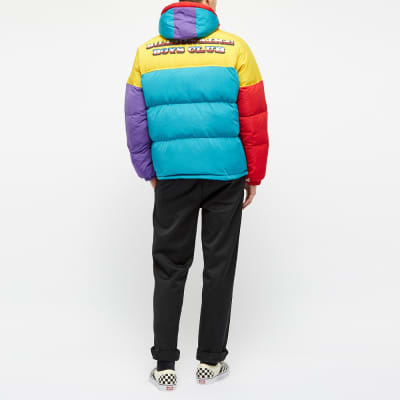 Billionaire Boys Club Colour Block Puffer Jacket