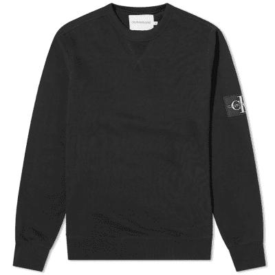 Calvin Klein Monogram Sleeve Badge Sweat