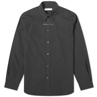 Givenchy Taped Logo Poplin Shirt