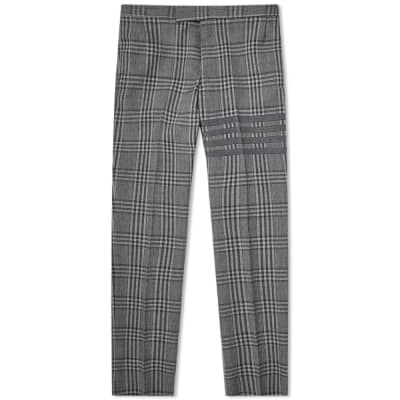 Thom Browne Prince of Wales Four Bar Trouser