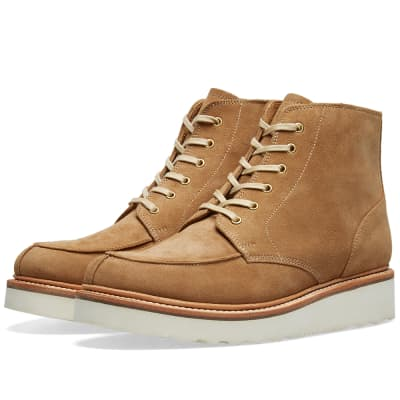 Grenson Buster Vibram Sole Apron Boot