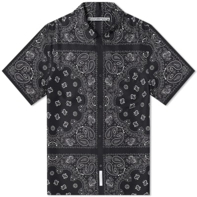 Alexander Wang Bandana Silk Jacquard Shirt