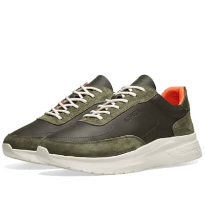 Aspesi x Filling Pieces Leather Running Sneaker