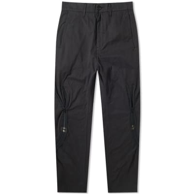 Stone Island Shadow Project Brushed Cotton Satin Zip Pant