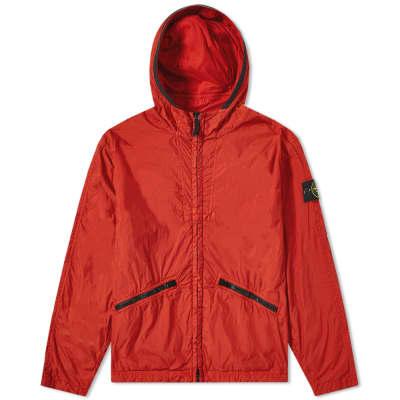 Stone Island Crinkle Reps Hooded Jacket