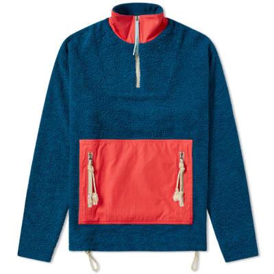 Acne Studios Faraz Patch Fleece Jacket