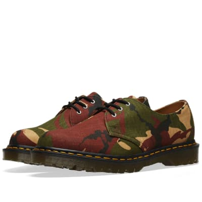 Dr. Martens 1461 Camo Shoe - Made in England
