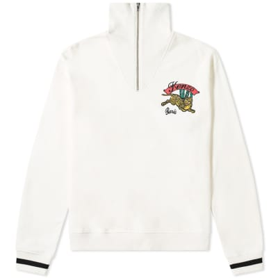 Kenzo Jumping Tiger Zip Sweat