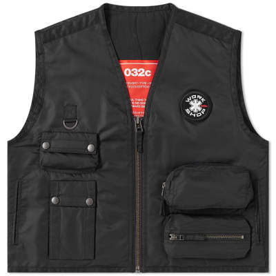 032c Embroidered Patch Vest