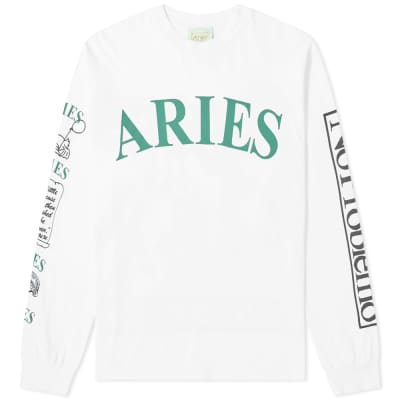 Aries Long Sleeve Warriors Tee
