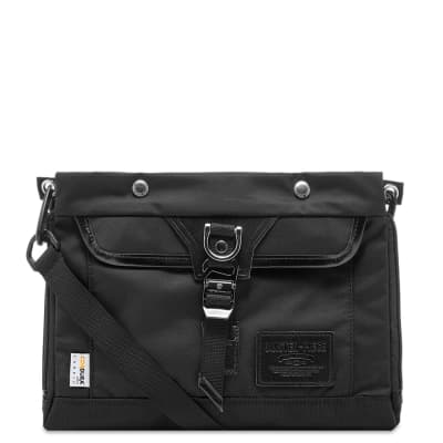 Master-Piece Potential Leather Trim Sacoche Bag