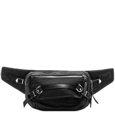 Master-Piece Potential Leather Trim Waist Bag