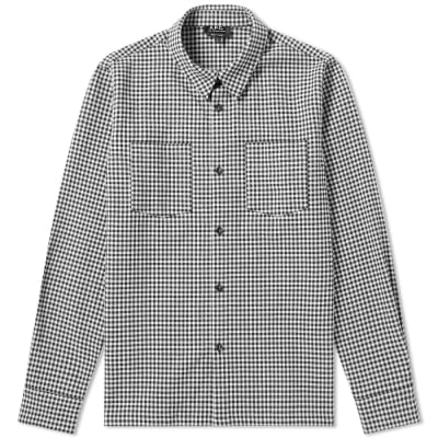 A.P.C. Checked Overshirt