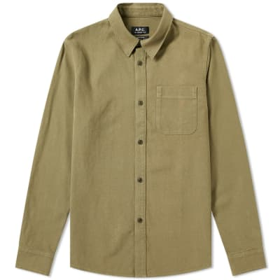 A.P.C. One Pocket Shirt
