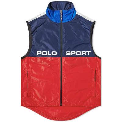 Polo Sport Silver Zip Gilet
