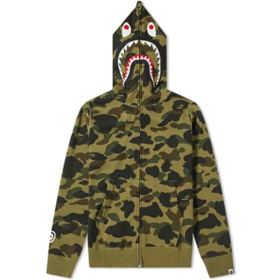 A Bathing Ape 1st Camo Shark Full Zip Hoody