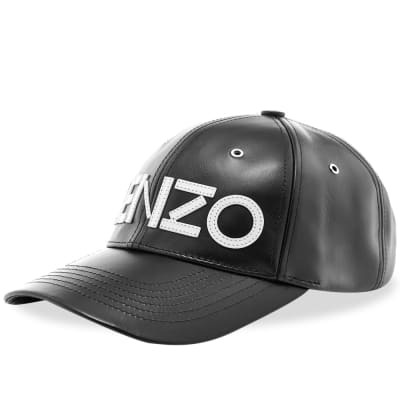 37fd361a5 Kenzo Leather Cap