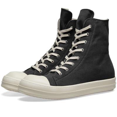 Rick Owens DRKSHDW Logo High Top Sneaker