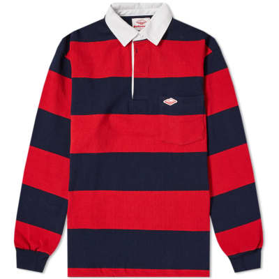 Battenwear Stripe Pocket Rugby Shirt