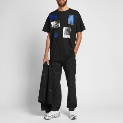 Raf Simons 6 Pictures Oversized Tee