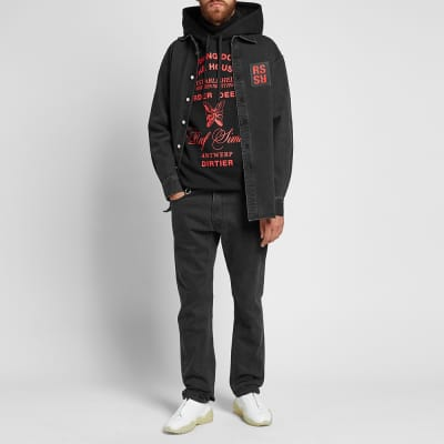 Raf Simons Burning Down Hoody