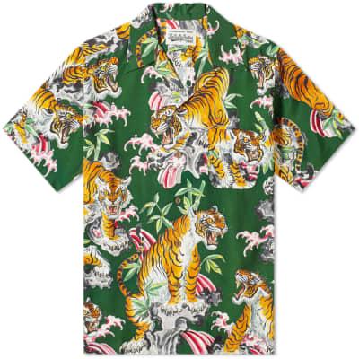 Wacko Maria Tiger Print Vacation Shirt
