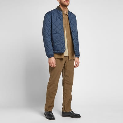 Save Khaki Corduroy Overshirt