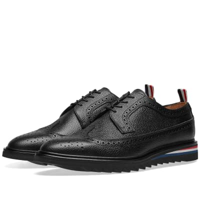 Thom Browne Classic Threaded Longwing Brogue