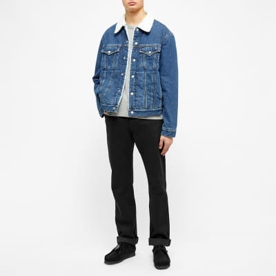 Calvin Klein Sherpa Lined Denim Jacket