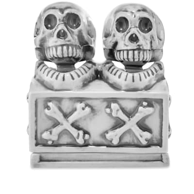 Neighborhood Booze Dual Skull Incense Chamber