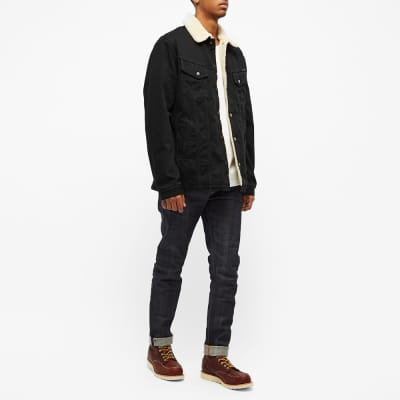 Nudie Lenny Sherpa Denim Jacket