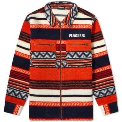 PLEASURES Explorer Fleece Jacket