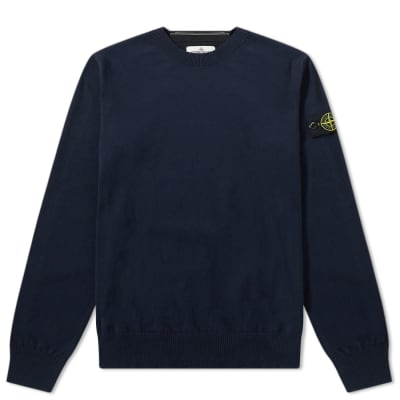 Stone Island Junior Crew Neck Knit
