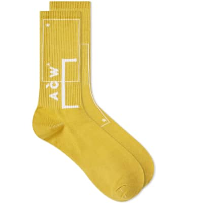 A-COLD-WALL* Logo Sock