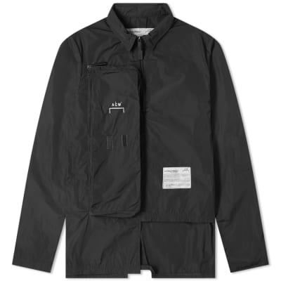 A-COLD-WALL* Quarter Zip Pocket Overshirt