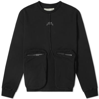 A-COLD-WALL* Zip Pocket Overlock Sweat