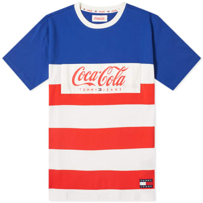 Tommy Jeans x Coca-Cola Stripe Tee